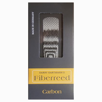 Harry Hartmann's Fiberreed Carbon for Bb-klarinett